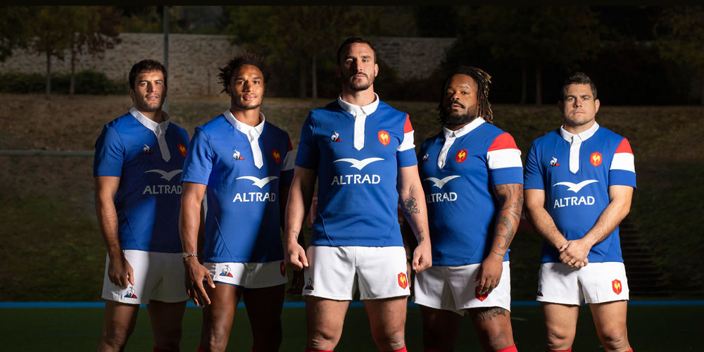 The XV de France begins its first test match of the autumn tour against the Springboks