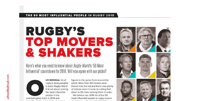 Mohed Altrad among the rugby's top movers and shakers