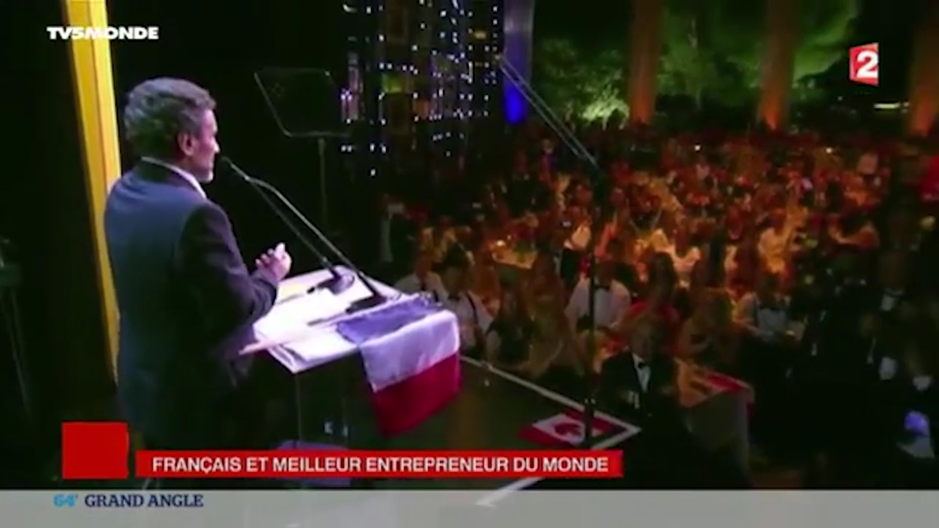Grand Angle - TV5 Monde - 2015 - M.Altrad, World Entrepreneur of The Year 2015